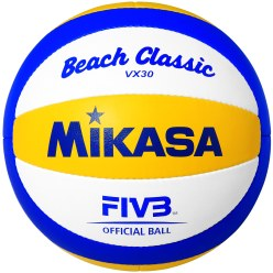 Ballon de beach-volley Mikasa® « Beach Classic VX 30 »
