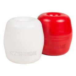 Sport-Thieme Flotteur hostalen, avec perforation 8 mm Rouge
