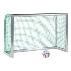 Minibut d'entraînement en alu Sport-Thieme® « Professional Compact », coloris aluminium naturel