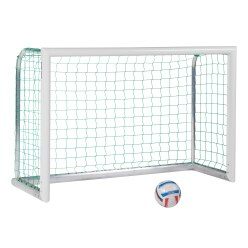 "Sport-Thieme® Alu-Mini-Trainingstor ""Professional Kompakt"", Weiß-Pulverbeschichtet"