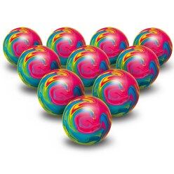 Balles multicolores Togu® par lot de 10