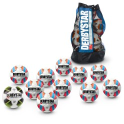 Lot de ballons de foot Derbystar® « Ligue »