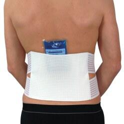 Hydas Rückenstützgürtel zur Kalt-/Heiss Therapie