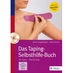 "Buch 'Das Taping-Selbsthilfe-Buch"" incl. DVD"