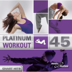 "CD ""Platinum Workout 45 - Chart Hits"""