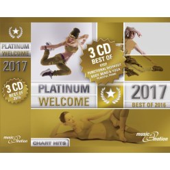 "3er CD Box Platinum ""Welcome 2017 -Best of Step/Workout"""