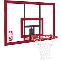 "Spalding® Basketball-Wandanlage ""NBA Polycarbonat Backboard"""