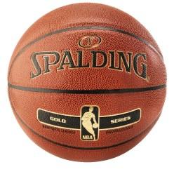 Ballon de basket Spalding « NBA Gold »