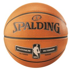 Ballon de basket Spalding® « NBA Platinum Outdoor »