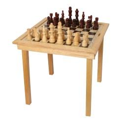 """Spieltisch """"Schach, Dame & Ludo"""""""