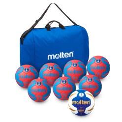 Lot de ballons de handball Molten® « Championnat »