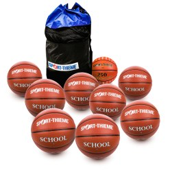 Lot de ballons de basket Sport-Thieme® « School »