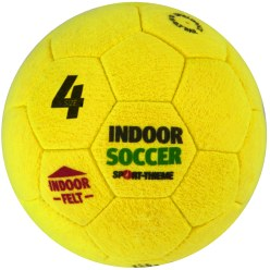 Ballon de foot en salle Sport-Thieme «Indoor Soccer» Taille 5, 420 g
