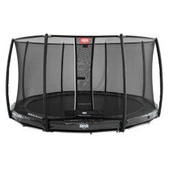 "BERG® Trampolin InGround ""Elite"" mit Sicherheitsnetz ""Deluxe"""