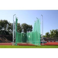 Cage de protection pour lancer du marteau, de 7 m à 10 m