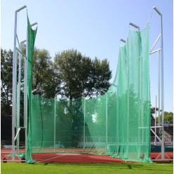Filet pour cage de protection pour lancer du marteau de 7 m à 10 m