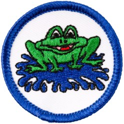 """Schwimmabzeichen """"Frosch"""""""