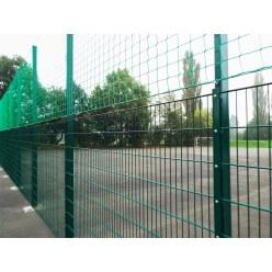 Ballfangnetz-Anlage mit Doppelstabmatte, 40 m