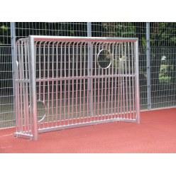 Sport-Thieme® Vollverschweisstes Bolzplatztor mit Ballausschnitten