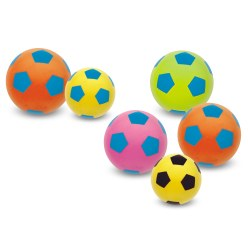 Lot de ballons de foot mous