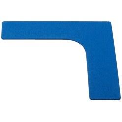 Sport-Thieme Marquage au sol Bleu, Pied, 20 cm