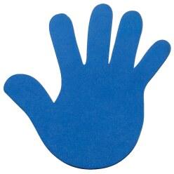 Sport-Thieme Bodenmarkierung Blau, Hand, 18 cm