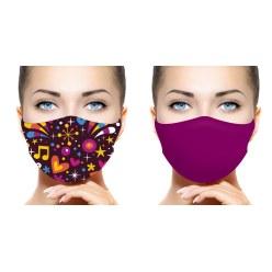 Lot de masques barrières Olusko Femmes