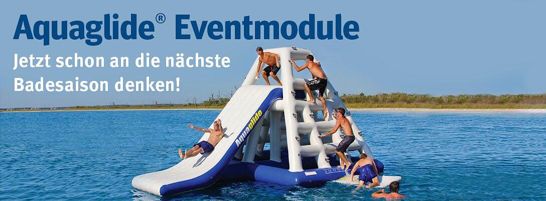 Aquaglide Eventmodule: Jetzt schon an die nächste Badesaison denken!