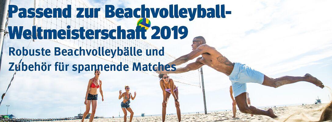 Beachvolleyball - Spielen wie die Profis