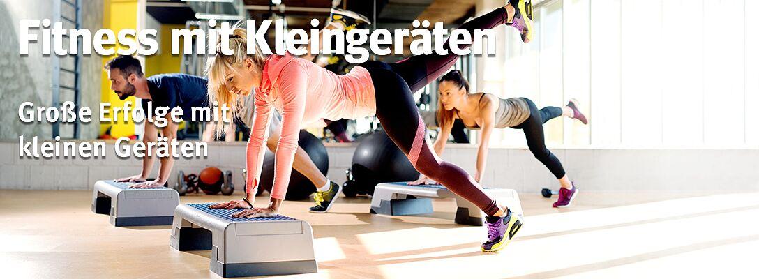 Fitness mit Kleingeräten