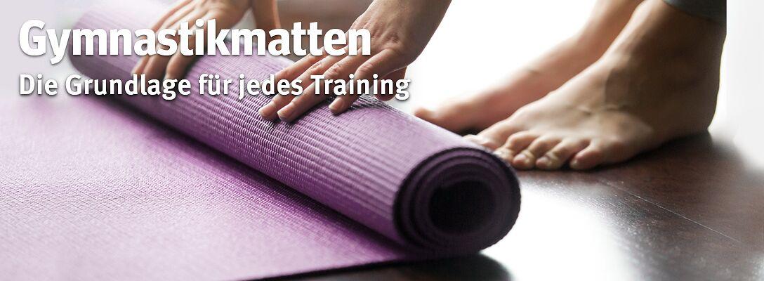 Gymnastikmatten - Mehr Komfort bei allen Übungen