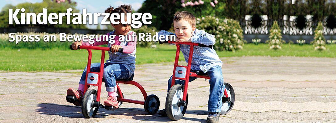 Kinderfahrzeuge - Spass an Bewegung auf Rädern
