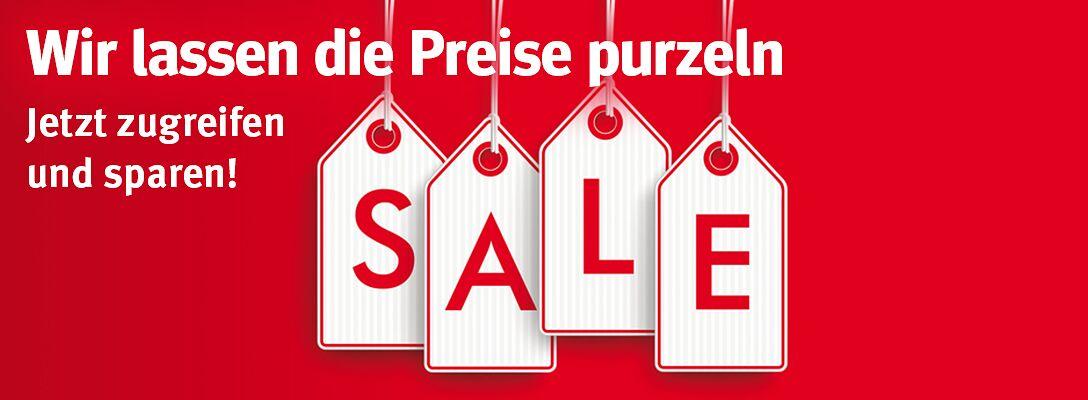 Sale - Jetzt sparen!