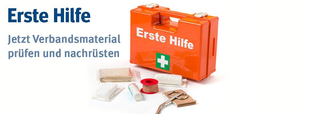 Erste-Hilfe - prüfen und nachrüsten