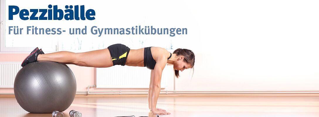 Pezzibälle - Für Fitness- und Gymnastikübungen