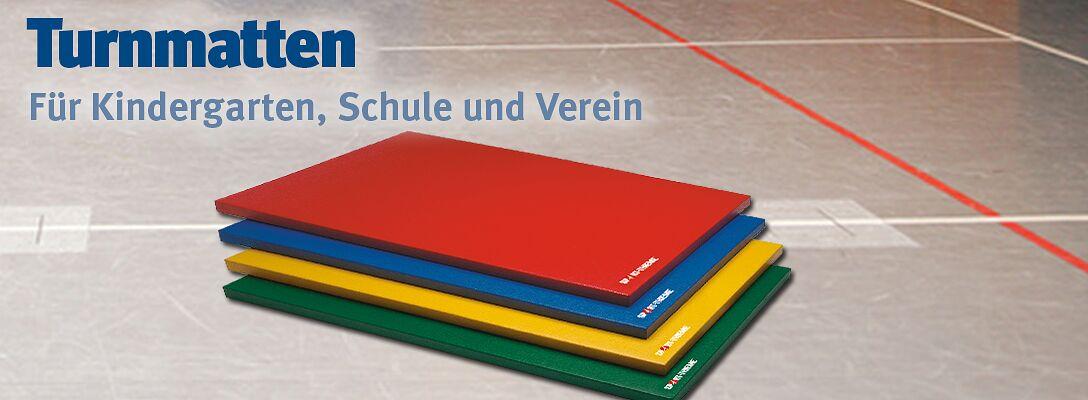 Turnmatten für Kindergarten, Schule & Verein