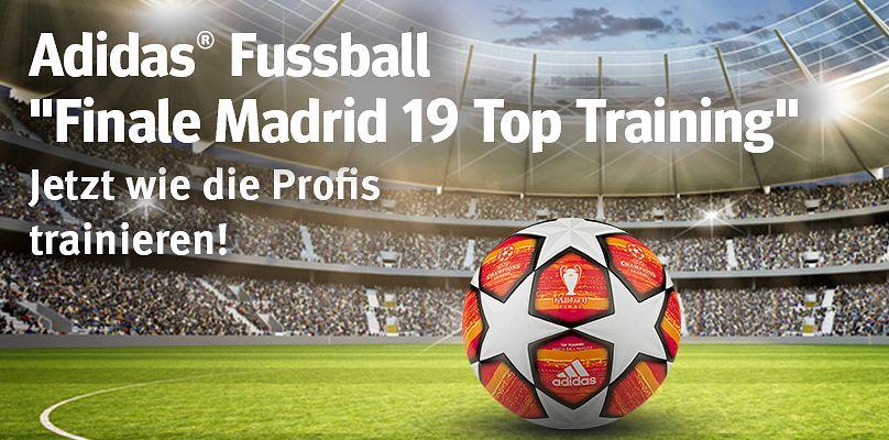 Adidas Fussball Finale Madrid 19 Top Training - Trainieren Sie wie die Profis!
