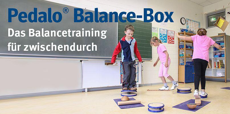 Pedalo® Balance-Box - Das Balancetraining für zwischendurch
