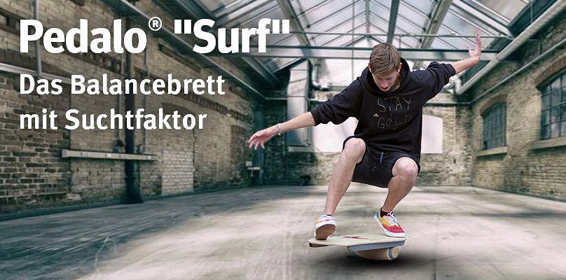 """Pedalo® """"Surf"""" - Das Balancebrett mit Suchtfaktor"""