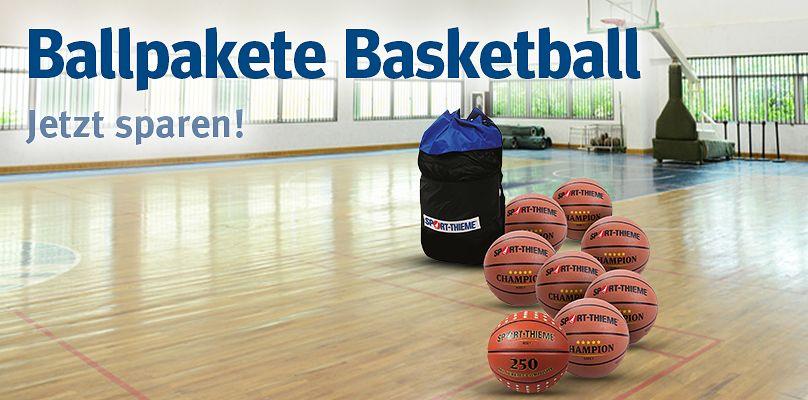 Ballpakete Basketball: Jetzt sparen!