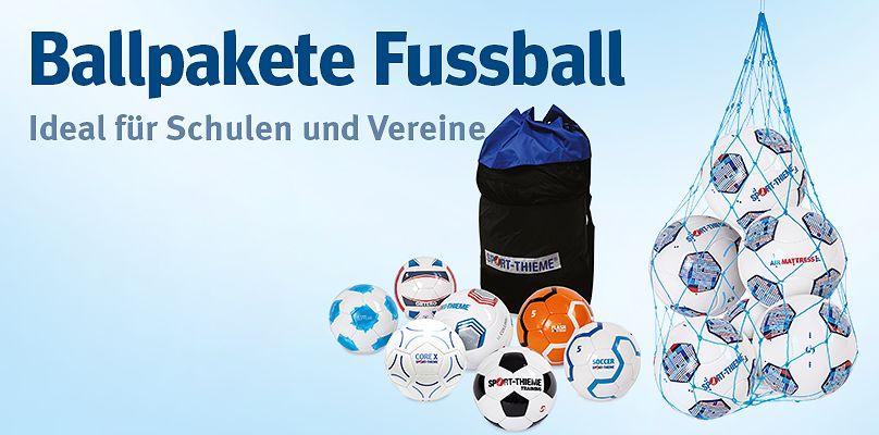 Ballpakete Fussball: Für das Mannschaftstraining  im Verein