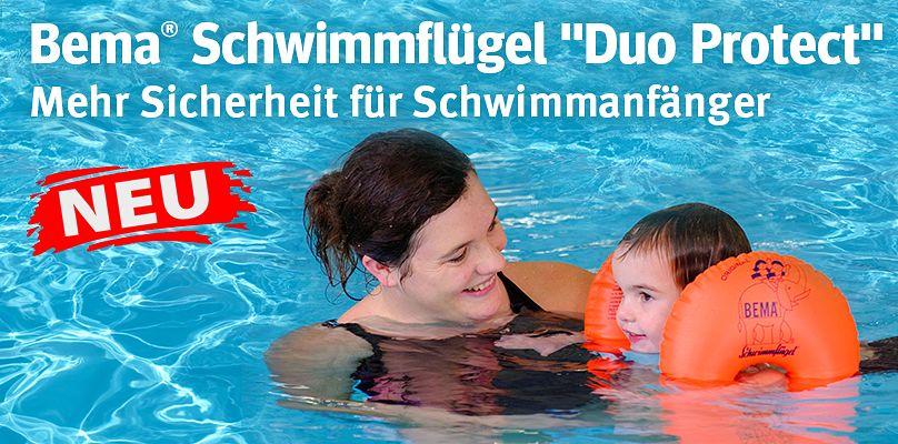 """Bema® Schwimmflügel """"Duo Protect"""" - Mehr Sicherheit für Schwimmanfänger"""