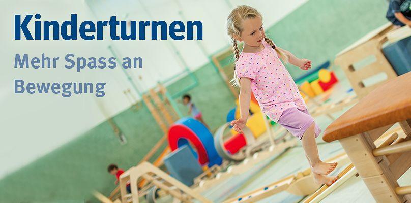 Kinderturnen - Mehr Spass an Bewegung