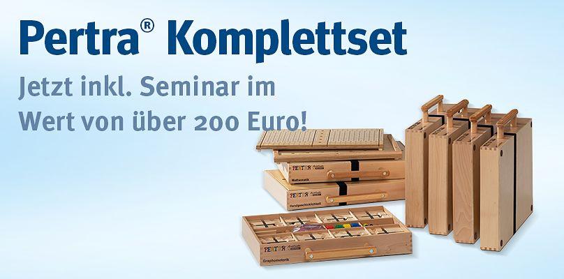 Pertra® Komplettset - Jetzt inkl. Seminar im Wert von über 200 Euro!