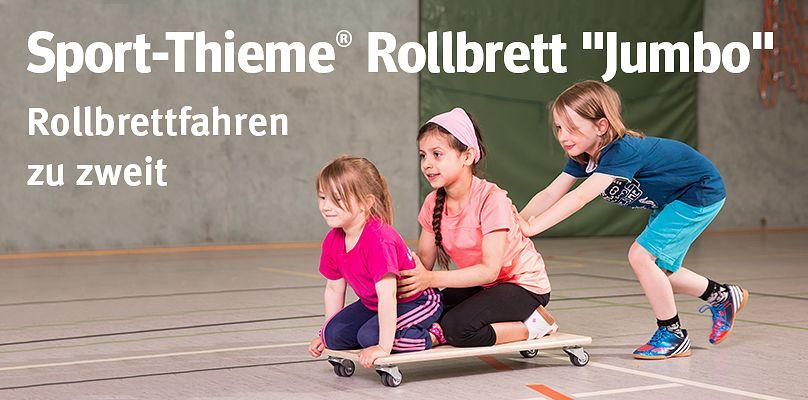 """Sport-Thieme® Rollbrett """"Jumbo""""  - Rollbrettfahren zu zweit"""