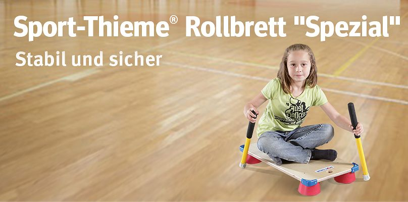 """Sport-Thieme® Rollbrett """"Spezial"""" - Stabil und sicher"""
