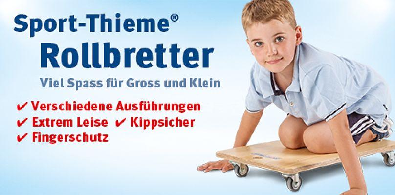 Sport-Thieme Rollbretter: Viel Spass für Gross und Klein
