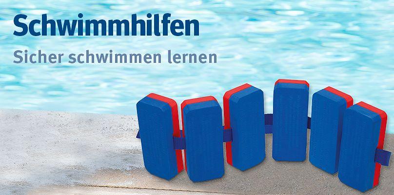 Schwimmhilfen - Sicher schwimmen lernen