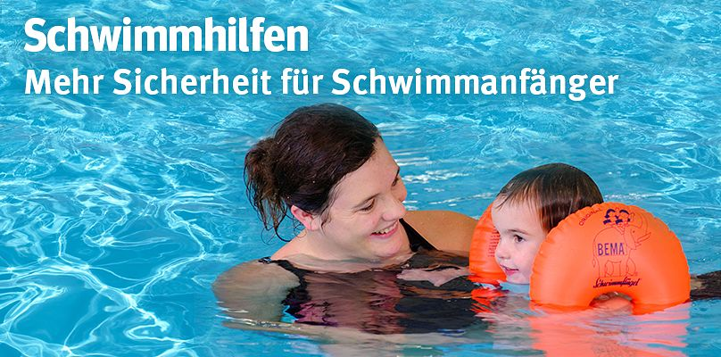 Schwimmhilfen für Schwimmanfänger
