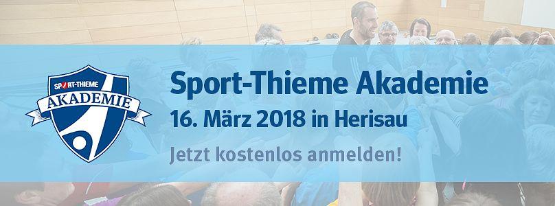 Sport-Thieme Akademie - Jetzt anmelden!